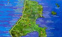 Mapa Ilhabela Trilhas