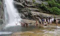cachoeira do Gato em Ilhabela