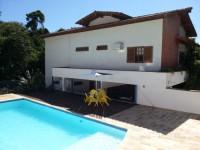 Magnifica casa para temporada com piscina na praia do Julião em Ilhabela