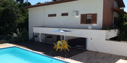 Casa para teporada com piscina