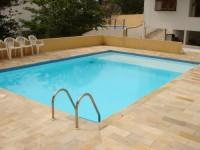 Explêndida casa para temporada com piscina na praia do Julião em Ilhabela